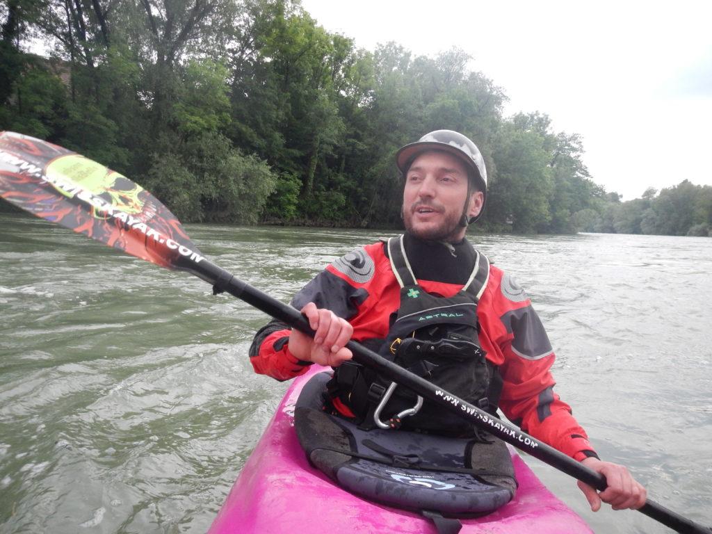 gefahr paar kayak